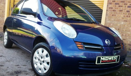 2003 Nissan Micra 1.2 S 3dr Low Miles - no deposit finance available (1)