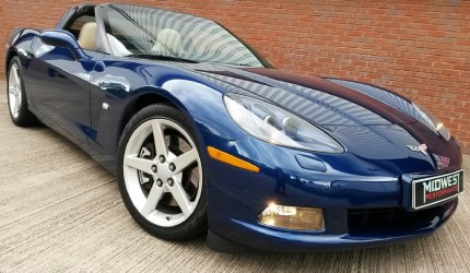 2006 Chevrolet Corvette C6 6L V8 - no deposit finance (1)