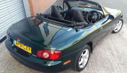 2001 Mazda MX-5 Auto - no deposit finance (3)