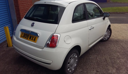 2009 Fiat 500 1.2 Pop Dualogic 3dr NO DEPOSIT FINANCE (6)